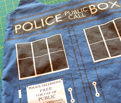 TARDIS shopping bag