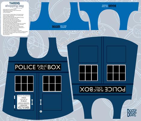 TARDIS shopping bag