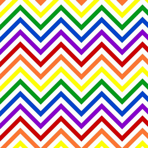 Rainbow Chevrons Bold