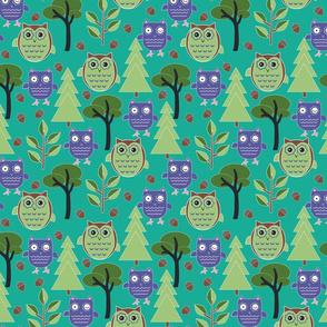 Woodlands_winking owl