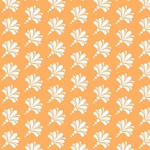 Flourish Bouquet orange white