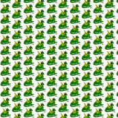 Goofy Dragon Fabric