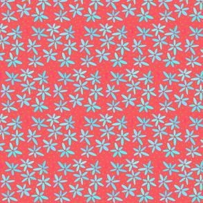 Turquoise Daisies - 2