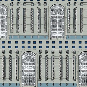 Latticed Arches & Columns