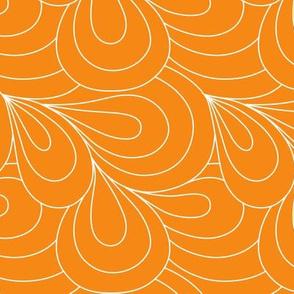 Paisley Quilt Me! Orange