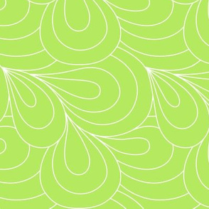 Paisley Quilt Me! Lime