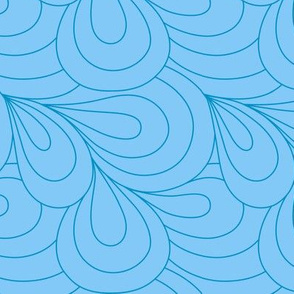 Paisley Quilt Me! Light Blue