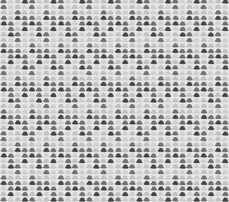 50 Shades of Charlie Chaplin fabric by retroactivelegacy on Spoonflower - custom fabric