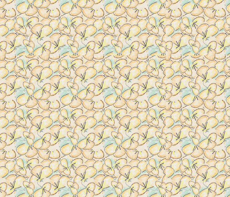 lilies-chicamancha fabric by chicamancha on Spoonflower - custom fabric