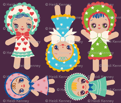 Cut And Sew Bunka Dolls