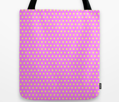Yellow Easter Dot on Magenta