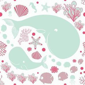The Whales danse (Color 2)