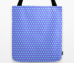 Cyan Easter Dot on Blue