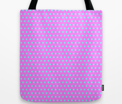 Cyan Easter Dot on Magenta