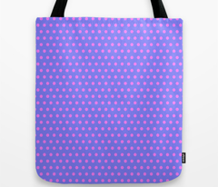 Magenta Easter Dot on Blue