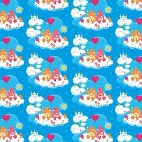 Care Bears on Clouds