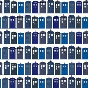 Tardis Collection Small Print