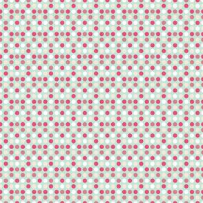 Whale Dots Aqua