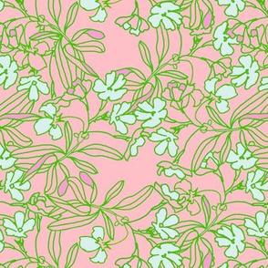 Garden Floral in pink