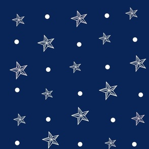 Royal Blue Nautical Coordinate-ed