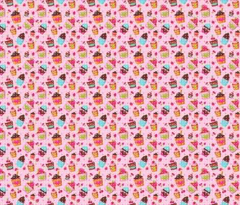 cupcakes fabric by kostolom3000 on Spoonflower - custom fabric