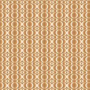 retro waves brown-beige