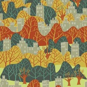 Mid Century Urban Forest 2