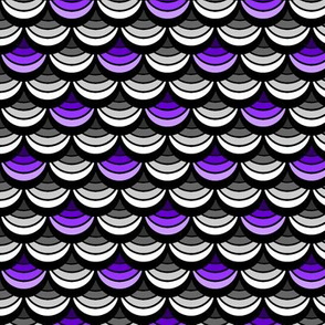 Ace Aware - Scallop - Purple, Black, White, Gray