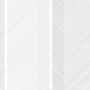 Large Arrows in White and Blue by Friztin