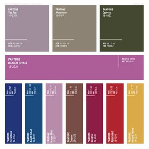Pantone® Fall 2014 Color Swatches