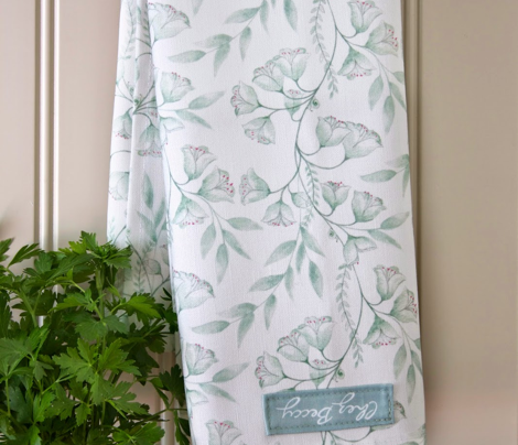 Wild Hellebore Tea Towels