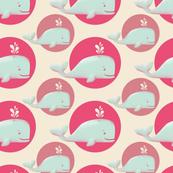 Vintage whales