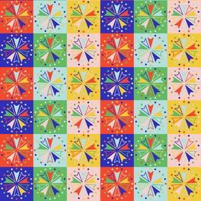 Circus Squares - Brights