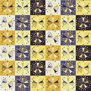 Circus Squares - Lemon Grove