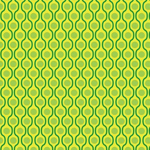 waves and dots green yellow-small