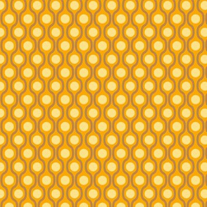 waves and dots orange-small