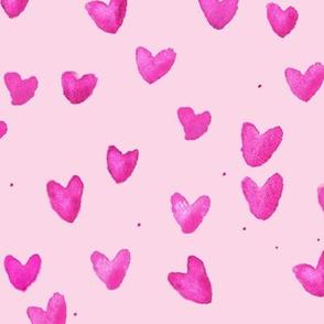cestlaviv_pink sparkle hearts
