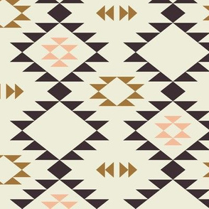 Navajo - Golden Brown Pink