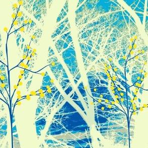 Summer Kimono Trees