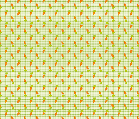 carrot fabric by hissingcat on Spoonflower - custom fabric