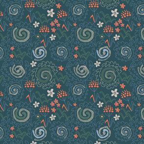 Meadow Spirals 2