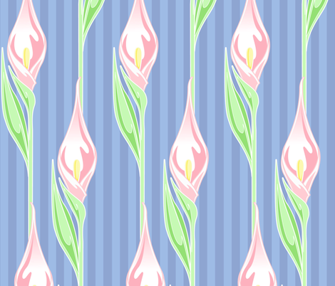 Lilyflow fabric by flames_artworks on Spoonflower - custom fabric