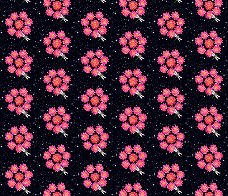 Infinity Lotus fabric by magentarose on Spoonflower - custom fabric