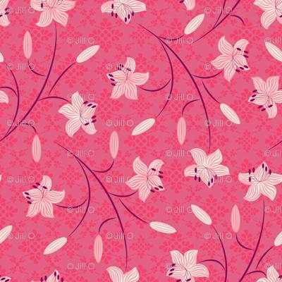 Lilies Cerise