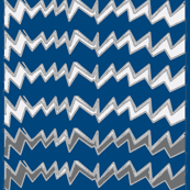 Zig Gray Zag Blue