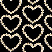 Rose hearts
