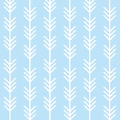 baby blue arrow stripes