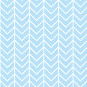 baby blue chevron