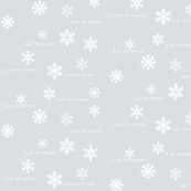 Let It Snow Coordinating Print
