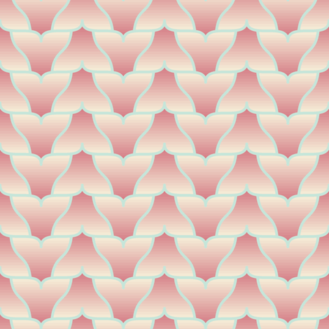 whale tail fluke zigzag